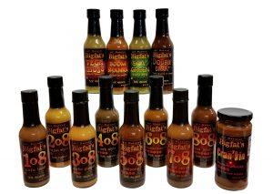 Bigfat's Hot Sauces