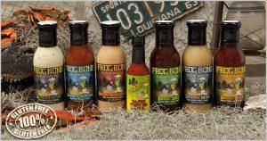 Frog Bone hot sauces