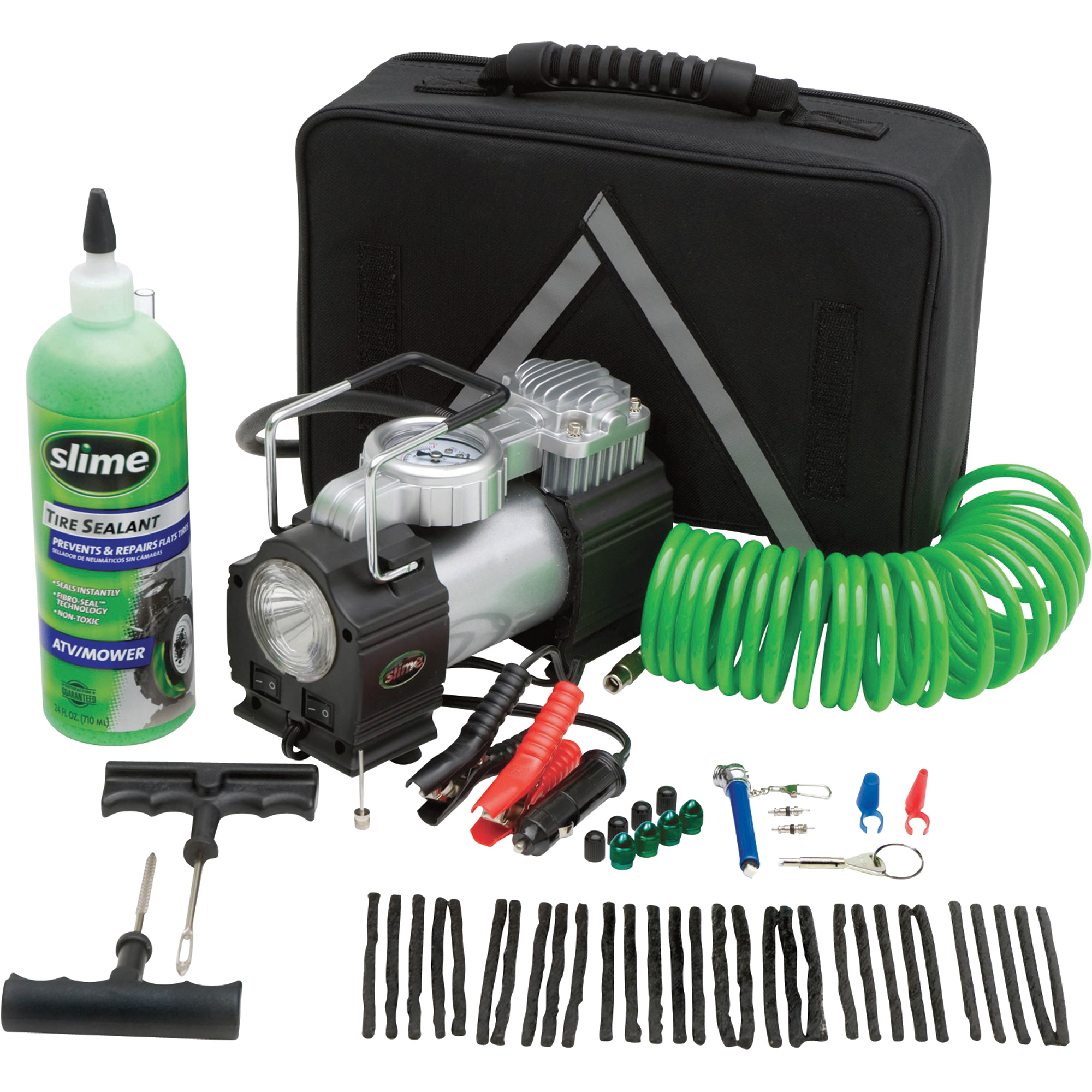 Tools for Repairing Flat or Punctured Tires On the Go